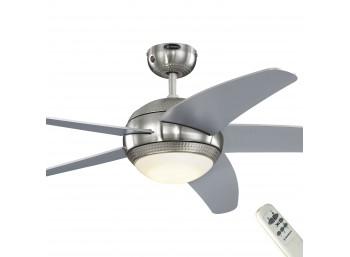 Mennyezeti ventilátor Westinghouse Bendan Led távirányítású, ezüst